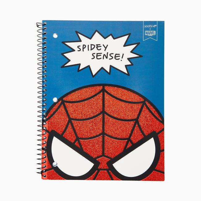 Yoobi x Marvel Avengers Spider-Man 1 Subject College Ruled Notebook