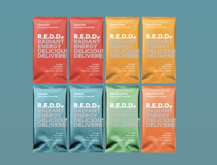 R.E.D.D. Plant-Based Protein Bar Variety Pack