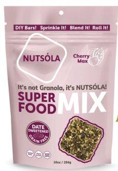 NUTSÓLA Cherry Max Superfood Mix