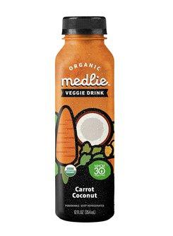 Organic Medlie Veggie Drink Carrot Coconut