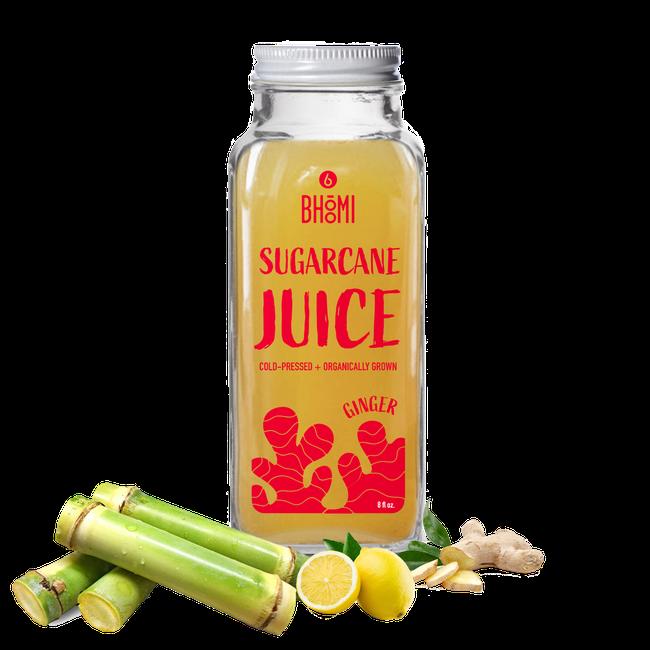 Sugarcane Juice - Ginger