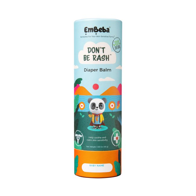 Don't Be Rash Diaper Balm + All Over Balm