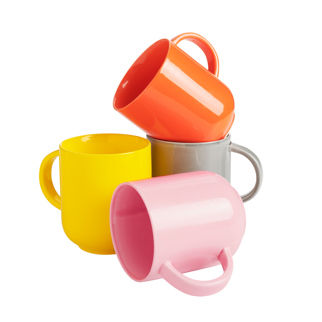 Lateral Objects Color Mug