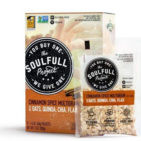 Cinnamon Spice Multigrain Hot Cereal 5 Packet Carton