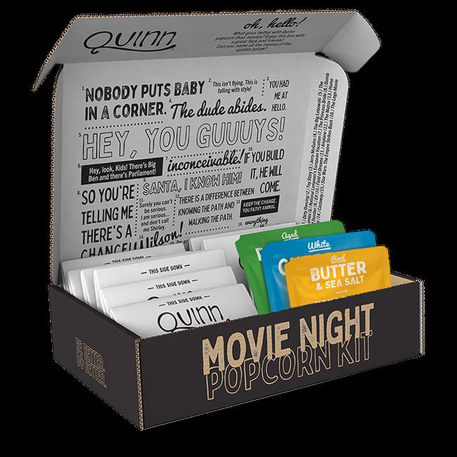 Movie Night Popcorn Variety Kit