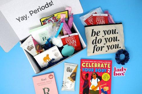 Lil Lady Box - First Period Kit