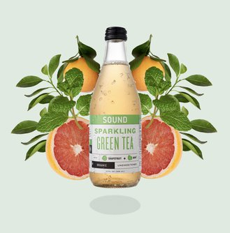 Green Tea With Grapefruit & Mint