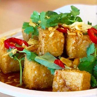 Signature Dish- Sticky Tofu Bites