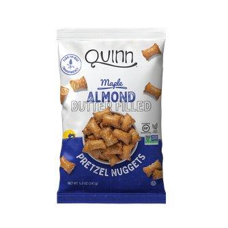Maple Almond Butter Filled Pretzel Nuggets