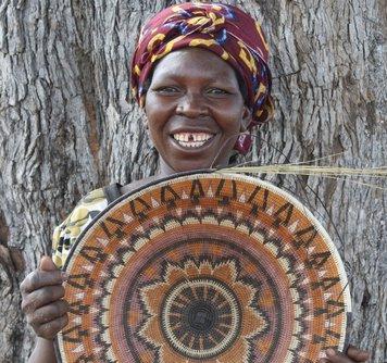 Kavango Basket Starburst Multi