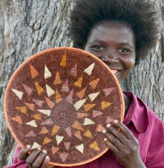 Kavango Basket Horizon Natural