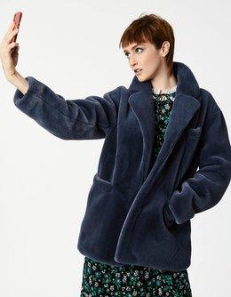 Unreal Beaver Fur Jacket
