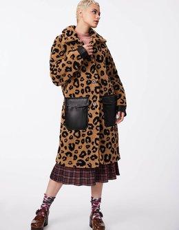 Unreal Cheetah Fur Coat