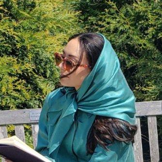Washable Silk Headscarf