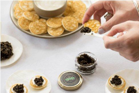 Virtual Caviar Tasting